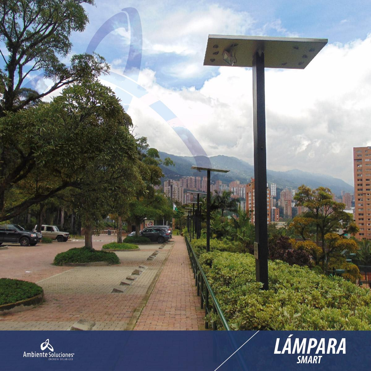 LÁMPARA SMART 20W	2,44 MTS 12 HORAS