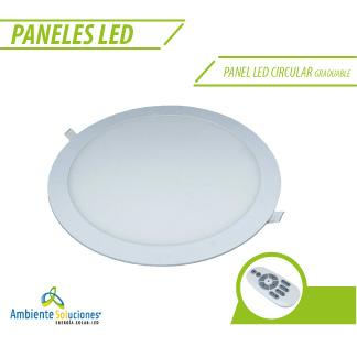 PANEL LED CIRCULAR GRADUABLE 15W