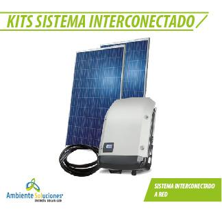 KIT INTERCONECTADO A RED #2 (Desde 4180 w hasta 5280 w)