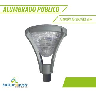 LÁMPARA DECORATIVA 50W